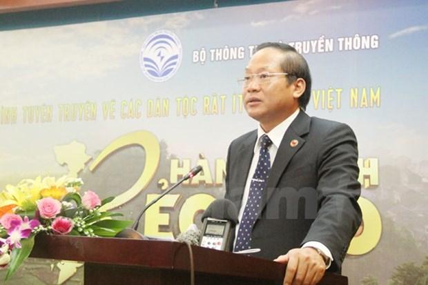Diffusion d'une emission televisee sur les petites ethnies au Vietnam hinh anh 1