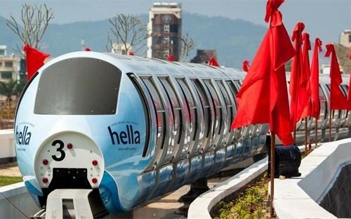 Mise en service du premier systeme de monorail aerien de Da Nang hinh anh 1