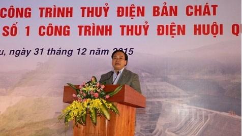 Inauguration de la centrale hydroelectrique de Ban Chat hinh anh 1