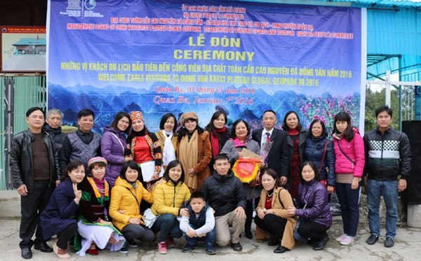 Ha Giang accueille ses premiers visiteurs etrangers de l'annee 2016 hinh anh 2