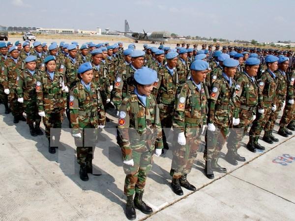 Maintien de la paix : le Cambodge envoye de nouveaux officiers au Liban hinh anh 1