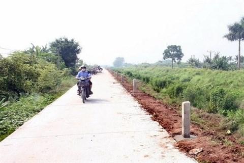 Thua Thien-Hue : 27-30 communes aux criteres de la Nouvelle ruralite en 2016 hinh anh 1