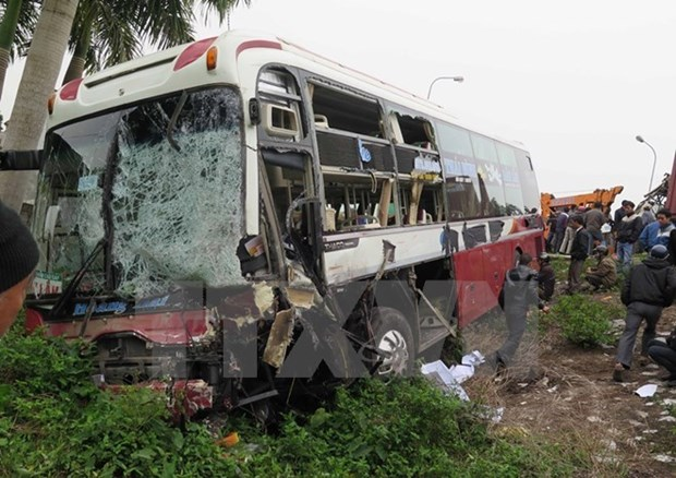 Accidents de la route : 65 morts durant les trois jours de conges du Nouvel An hinh anh 1