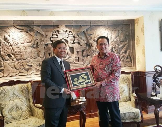 Le Vietnam, une priorite de l'Indonesie dans la region hinh anh 1