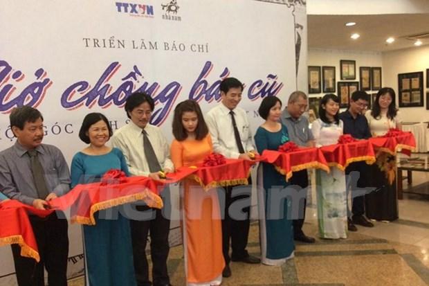 Exposition sur la presse vietnamienne a Ho Chi Minh-Ville hinh anh 1