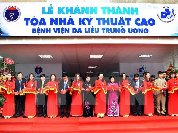 Inauguration de deux nouveaux etablissements medicaux a Hanoi hinh anh 1