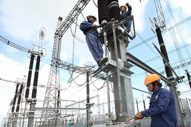 77.206 milliards de dongs investis dans le reseau de transport d'electricite en cinq ans hinh anh 1