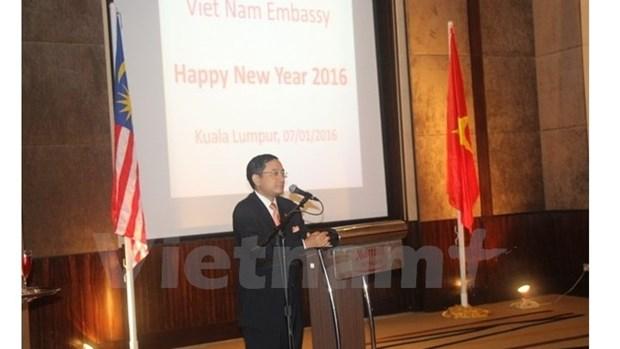 Vietnam-Malaisie : de robustes relations qui se sont affirmees en 2015 hinh anh 1