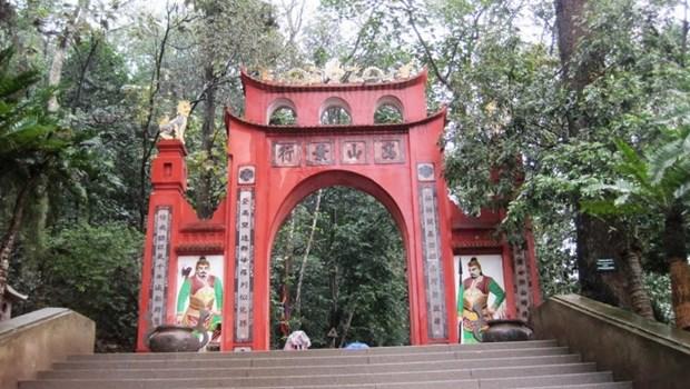 Plus de 4.500 milliards de dongs pour preserver le Temple des rois Hung hinh anh 1