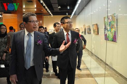 Exposition «Vietnam – beaute eternelle» a Pekin hinh anh 1