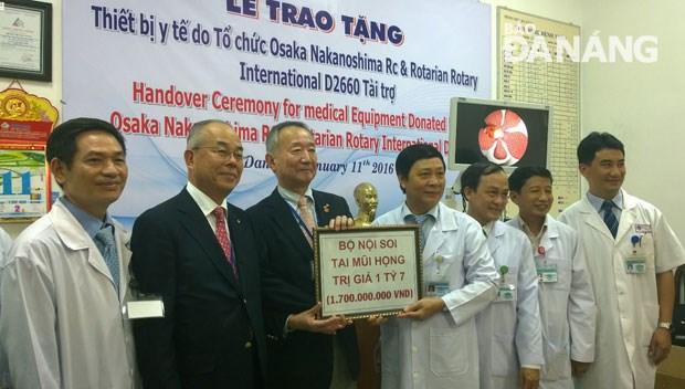 Dons d'equipements medicaux japonais a l'hopital de Da Nang hinh anh 1