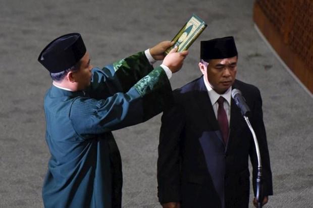 Indonesie : le nouveau president de la Chambre des representants prete serment hinh anh 1