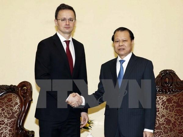 Le Vietnam et la Hongrie s'engagent a renforcer la cooperation mutiforme hinh anh 2