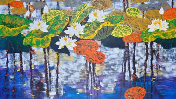 Marche des peintures du Tet 2016 hinh anh 1