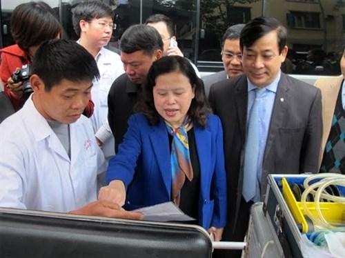 Services medicaux pour le XIIe Congres national du PCV hinh anh 1