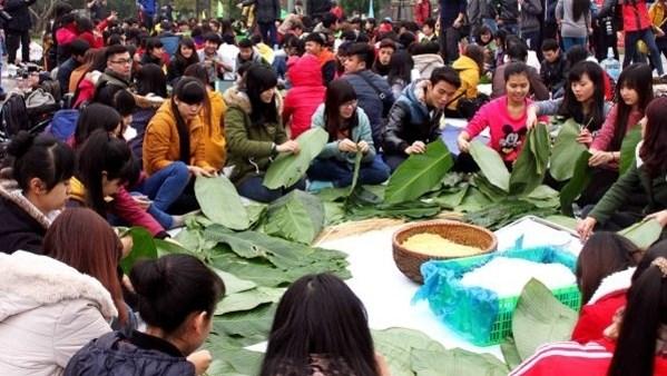 Fete du Nouvel An traditionnel au village touristique et culturel des ethnies vietnamiennes hinh anh 1