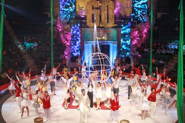 Ouverture du Gala international du cirque 2016 a Hanoi hinh anh 1