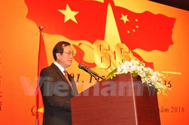 Celebration du 66e anniversaire des relations Vietnam-Chine a Guangzhou hinh anh 1