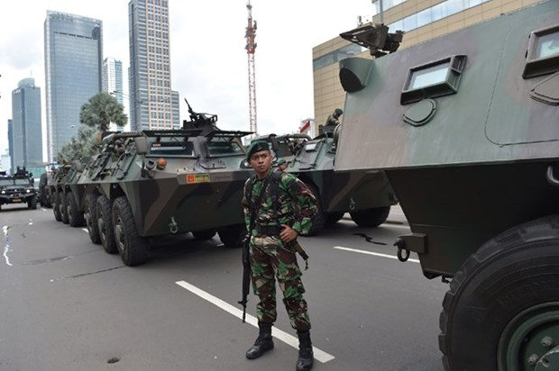 Attaque terroriste en Indonesie : message de sympathie du Vietnam hinh anh 1