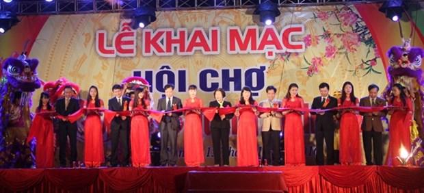 Ouverture de la Foire printaniere a Quang Binh et Thai Nguyen hinh anh 1