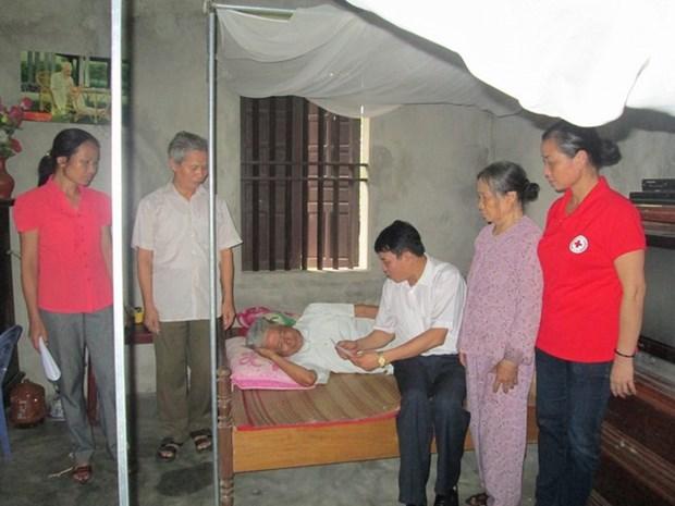 Ha Nam : pour que les pauvres jouissent aussi d'un Tet heureux hinh anh 1