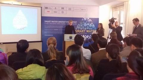La Suede lance le concours d'innovation intelligente sur l'eau au Vietnam hinh anh 1