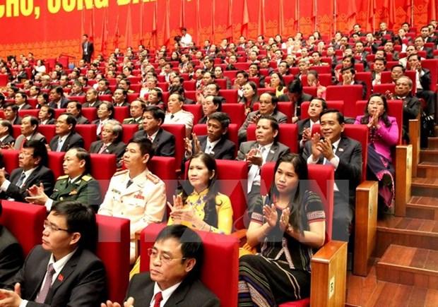 Communique de presse sur la ceremonie d'ouverture du XIIe Congres national du PCV hinh anh 1