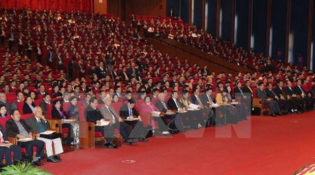Le 12e Congres national du PCV propose des solutions pour le developpement national hinh anh 1