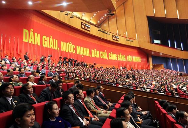 La population suit avec interet le 12e Congres national du Parti hinh anh 1