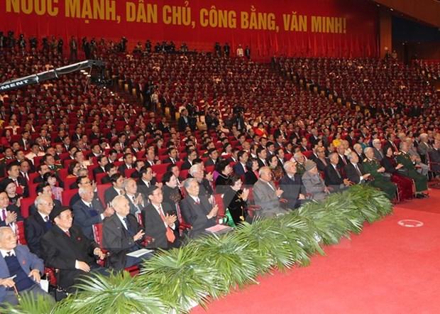 Le Vietnam felicite pour le 12e Congres national du PCV hinh anh 1