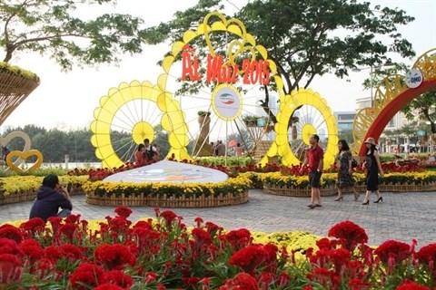 Les festivals floraux les plus attrayants de Ho Chi Minh-Ville hinh anh 1