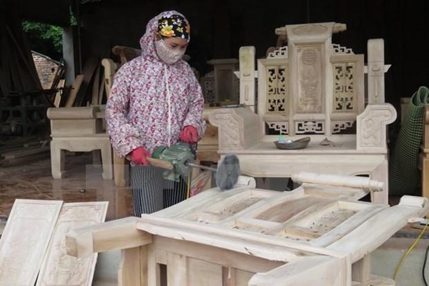 Le secteur du bois renforce sa position sur le marche domestique hinh anh 1