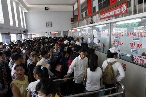 Les gares routieres se mobilisent pour le Tet hinh anh 1