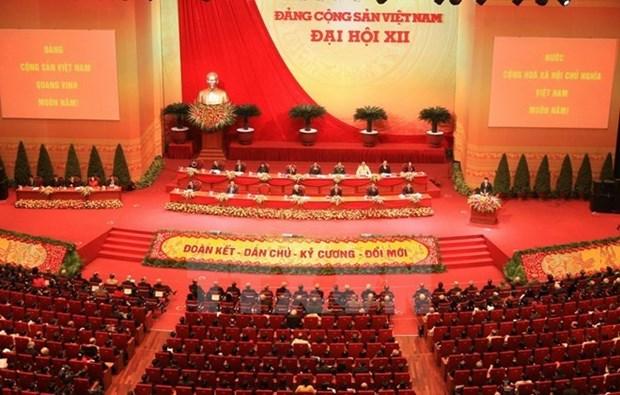 Les Vietnamiens en Russie tournes vers le 12e Congres du PCV hinh anh 1