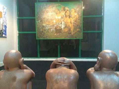 Hanoi, capitale de l'art contemporain en janvier hinh anh 2