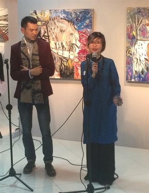 Hanoi, capitale de l'art contemporain en janvier hinh anh 1