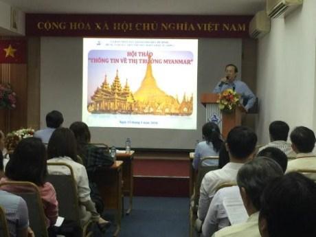De nombreuses opportunites pour les entreprises vietnamiennes au Myanmar hinh anh 1