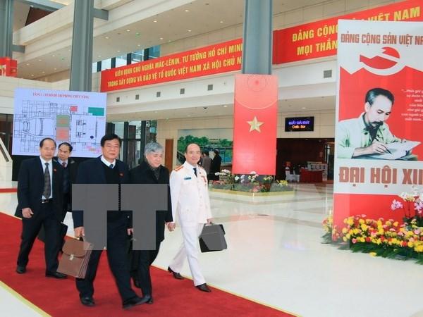 Delegues du 12e Congres du PCV : le Parti regarde la verite en face hinh anh 1