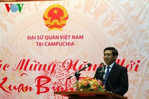Les Viet Kieu au Cambodge et a Macao fetent le Tet du Singe 2016 hinh anh 1
