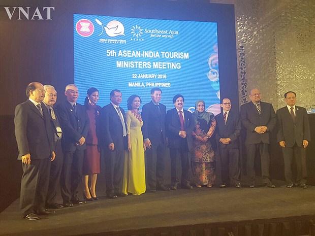 Le Vietnam a la 5e seance ministerielle du Tourisme ASEAN-Inde hinh anh 1