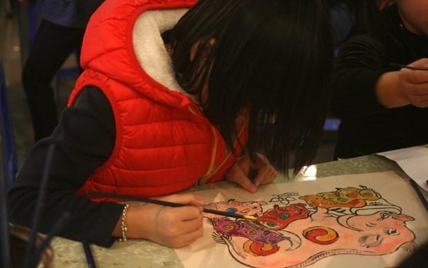 Les couleurs de Tay Nguyen au cœur de Hanoi a l'occasion du Nouvel An lunaire hinh anh 1