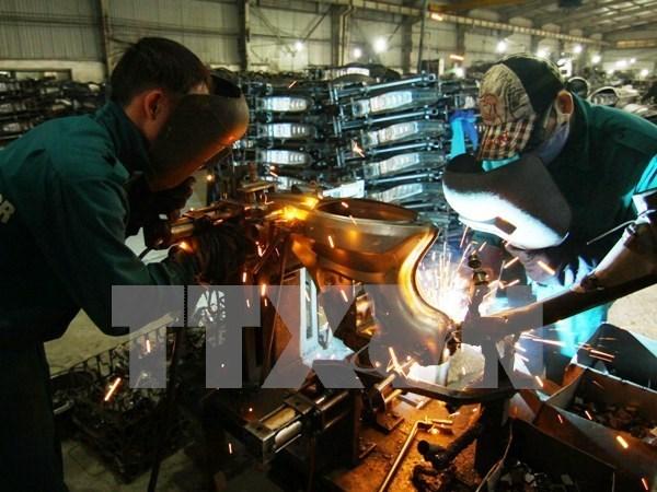 L'indice de la production industrielle bondit en janvier de pres de 6 % sur un an hinh anh 1