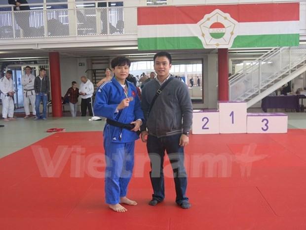 Une judokate vietnamienne medaillee de bronze a la Coupe de Hongrie hinh anh 1
