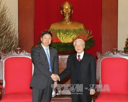 Vietnam-Chine: Nguyen Phu Trong recoit l'envoye special de Xi Jinping hinh anh 1