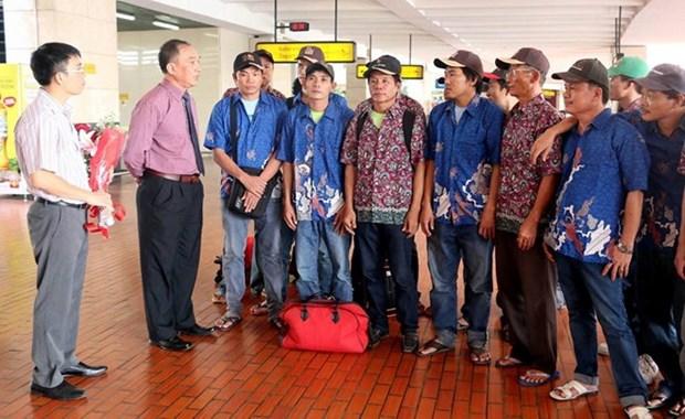 L'Indonesie renvoie 17 pecheurs vietnamiens dans leur pays hinh anh 1