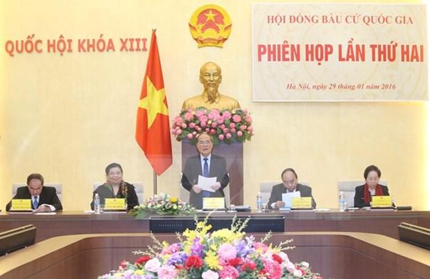 Le Conseil electoral national tient sa deuxieme reunion hinh anh 1