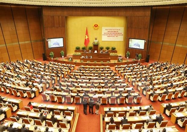 Conference nationale sur les elections prochaines des deputes de l'AN de la 14e legislature hinh anh 1