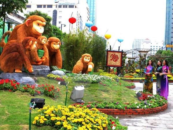 Tet : Ho Chi Minh-Ville inaugure la rue florale et celle des livres hinh anh 1