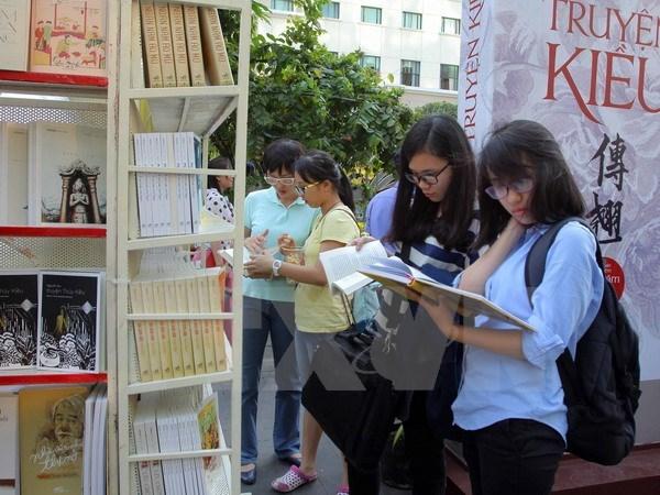 Tet : Ho Chi Minh-Ville inaugure la rue florale et celle des livres hinh anh 2