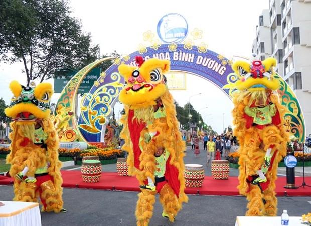 Diverses activites culturelles en l'honneur du Tet dans le pays hinh anh 1